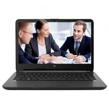 惠普(HP) 340 G4-18002002057 笔记本电脑 i3-7100U/集成/4G/500G/M430 2G独显/DVDrw/LED防眩光屏/14英寸/三年服务(不含电池)/Dos/指纹识别