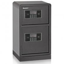 齐心(COMIX) BGX-M/D-78SI 钢七连电子密码双层保管箱 高78CM