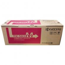 京瓷(KYOCERA) 原装彩色墨粉盒(TK-583M红色)