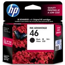 惠普(HP) 46 原装彩色墨盒 (黑色)