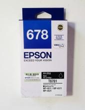 爱普生(EPSON) 678 原装墨盒(T6781 黑色)