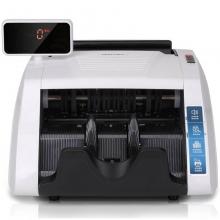得力(deli)智能语音点验钞机 新版 点钞机 T800C(白色)双电机验钞机