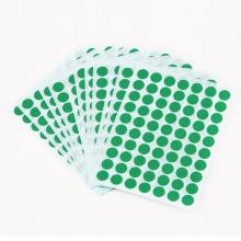 得力(deli) 6421 粘性标签标贴 不干胶纸 贴纸 空白标签纸 标签贴 口取纸(绿色)
