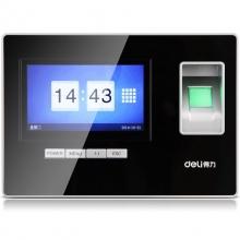 得力(deli) 3968 智能触屏打卡机 免软件指纹考勤机