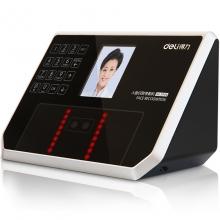 得力(deli) 3944 精准人脸识别考勤机 液晶彩屏/触摸式按键/真人语音