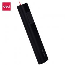 得力(deli)2810 遥控笔电教笔红外线 PPT教学投影笔 手电激光电子教鞭笔 黑色
