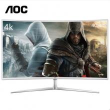 AOC(冠捷) C4008VU8 40英寸 4K高清 曲面 高清显示器 白色