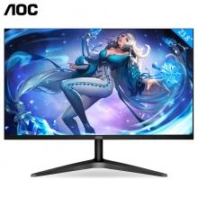 AOC 广视角屏 HDMI接口1080P全高清 低蓝光爱眼不闪屏电脑显示器 24B1XH 23.8英寸 IPS面板