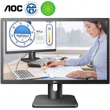AOC 22E1H 21.5英寸 HDMI接口 快拆支架 低蓝光设置 不闪屏技术电脑显示器