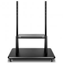 得力(deli)14831 智能会议平板移动支架 150kg高承重落地移动推车