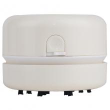 得力(deli) 迷你桌面吸尘器便携式家用强力小型电动清洁器 白色 18880