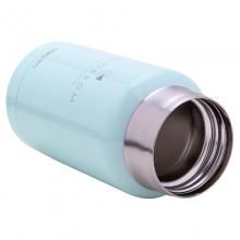 得力(deli) 8994 不锈钢保温水杯 190ML 浅蓝色