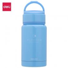 得力(deli) 8994 不锈钢保温水杯 190ML 蓝色