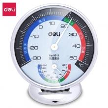 得力(deli)9011 台式温度计/温湿度计 中号