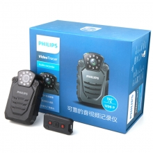 飞利浦 VTR8200 64G 执法记录仪 黑色