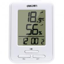 得力(deli)9018 家用/办公室内电子温湿度计