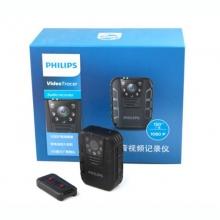 飞利浦(PHILIPS) VTR8100 执法记录仪 64G 黑色