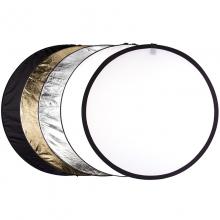 锐玛(EIRMAI)YE-R110 五合一反光板 便捷折叠柔光板补光板 拍照摄影挡光板