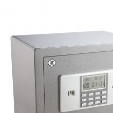 得力(deli)3613家用办公保险柜/保险箱 全钢3C认证保管箱高45CM