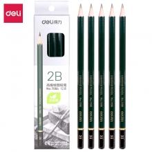 得力(deli) 7084 2B木质铅笔