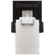 金士顿(Kingston) DTDUO3 OTG USB3.0 micro-USB 和 USB双接口 64G U盘