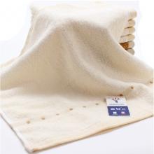 金号 4620 提缎方巾 35-34cm 浅棕色