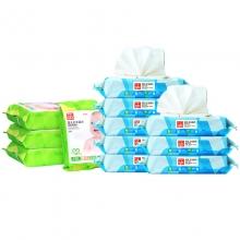 好孩子 海洋水润婴儿卫生湿巾 80片*8包+口手湿巾25片*4包