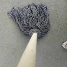 诚和致远(chzy) 木把灰线条墩布 杆长1.2米