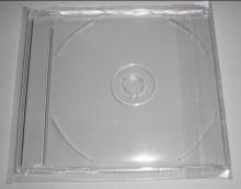 硬塑料正方形光盘盒 单片装 5寸 25个/包