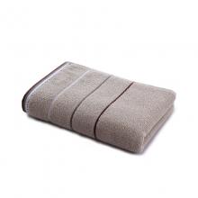 九洲鹿 毛巾家居 2条装 全棉舒适吸水加大面巾加厚款
