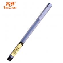 真彩A1简尚中性笔 0.5mm黑色水笔 签字笔 磨砂透明杆中性笔 12支/盒