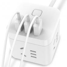 公牛(BULL) GN-U303U 魔方USB插座 3USB接口+3插孔 1.5米