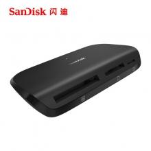 闪迪(SanDisk) 多合一多功能读卡器 UHS-II usb3.0电脑读卡器SD CF TF卡通用