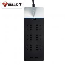 公牛(BULL) GN-H406U 高端抗电涌插座 (3米)