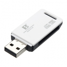 沣标(FB) 360多合一迷你读卡器 高速多功能直读相机SD卡SDHC TF MicroSD 内存卡2合1