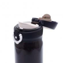 膳魔师(THERMOS)JNL-500 500ml DPL 高真空不锈钢保温杯  咖啡黑