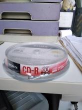 索尼(SONY) CD-R 48速 700MB 刻录光盘 10片/盒