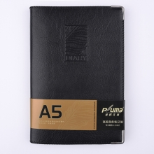 金辉 JH-16124 B5 100页 仿皮笔记本 黑色