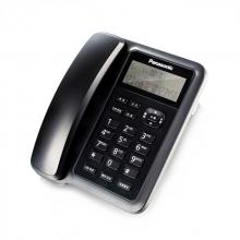 松下(Panasonic)KX-TS318CN免电池来电显示电话机家用办公座机(黑色)