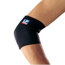 LP702欧比护肘标准型肘部护套健身运动护具 单只 黑色