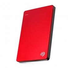 希捷(seagate) Backup Plus睿品 2.5英寸 USB3.0 移动硬盘 (2TB丝绸红)
