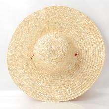 沃绣 大号编织草帽 44cm