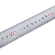 得力(deli) 8460 不锈钢直尺 1米