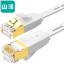 山泽(SAMZHE) 6200PBS 六类千兆无氧铜工程级网线 白色 20米