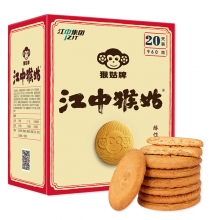 江中猴姑 酥性饼干960g 猴头菇制成 40包/盒