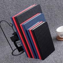 博文 (BoWen) 7703横格纹仿皮笔记本 48K 黑 180*100mm