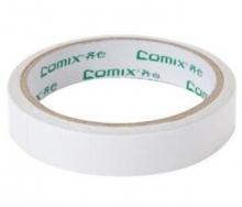 齐心(COMIX)MJ1810 棉纸双面胶带18mm*10y (9.1米)