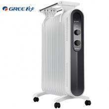 格力 (GREE)电热油汀 NDY18-X6121 电暖器/黑白配色