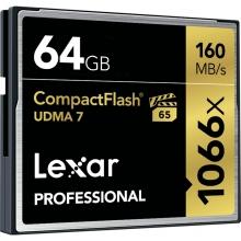 雷克沙(Lexar) 1066X 高速内存卡64G