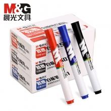 晨光(M&G) AWMY2201A 易擦白板笔单头 (黑色)10支/盒